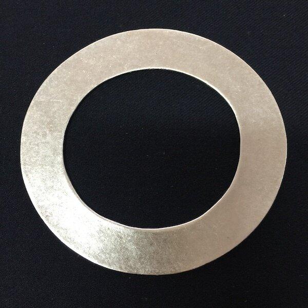 OTB-3244 Silver plated bangle