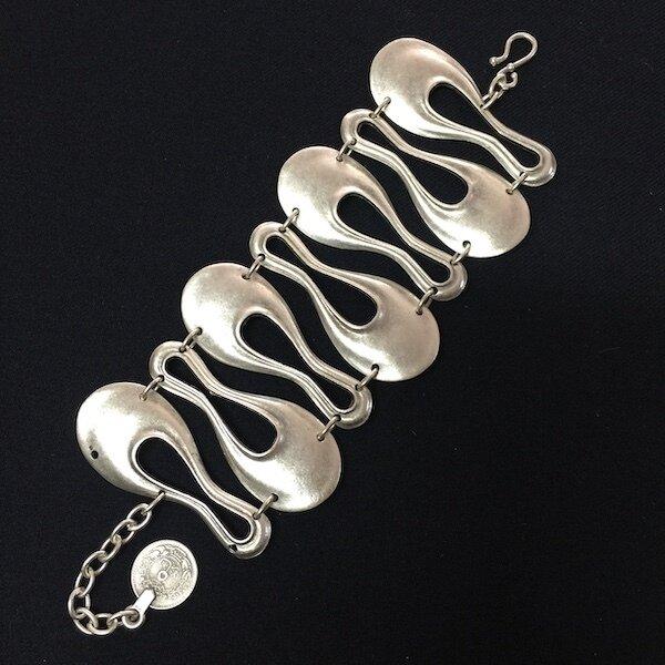 OTB-2313 Silver plated bracelet
