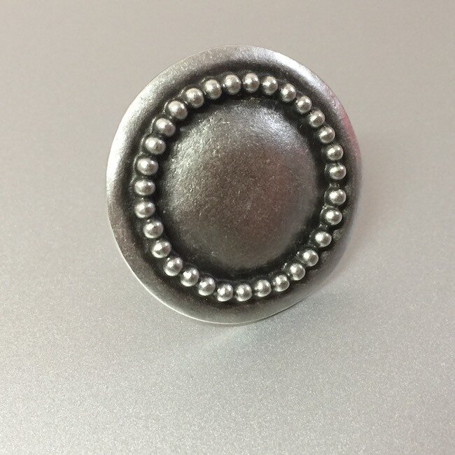 OTR-4038 - Silver plated ring