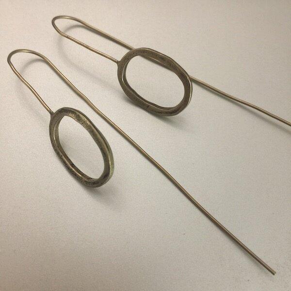 OTEB-18 Bronze Earrings