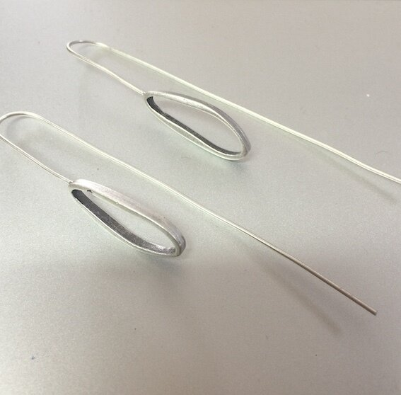 OTE-18 Silver plated Earrings