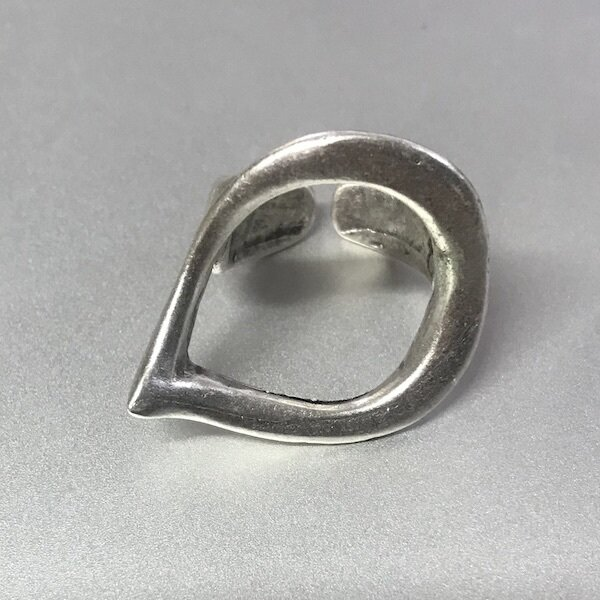 OTR-11 Silver plated ring