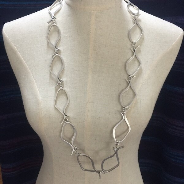 OTN-18 Silver plated necklace