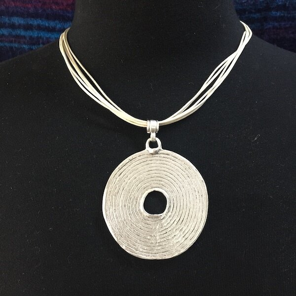 OTP-2024 - Silver Plated Pendant