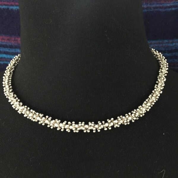 OTN-27 Silver plated necklace