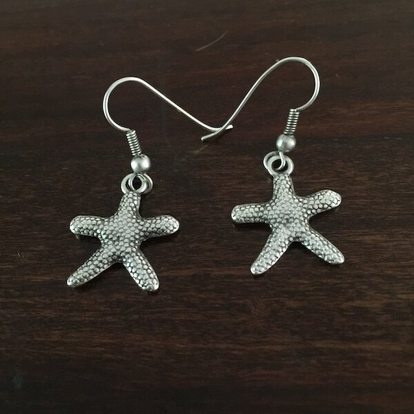 OTE-21 Silver plated earrings