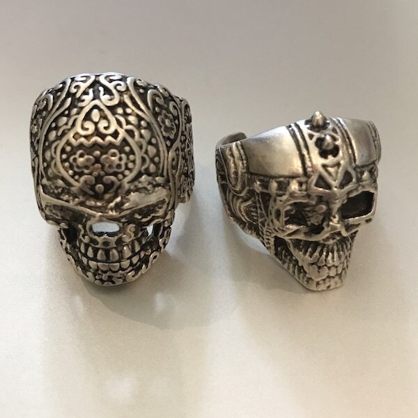 OTR-32 Silver plated ring
