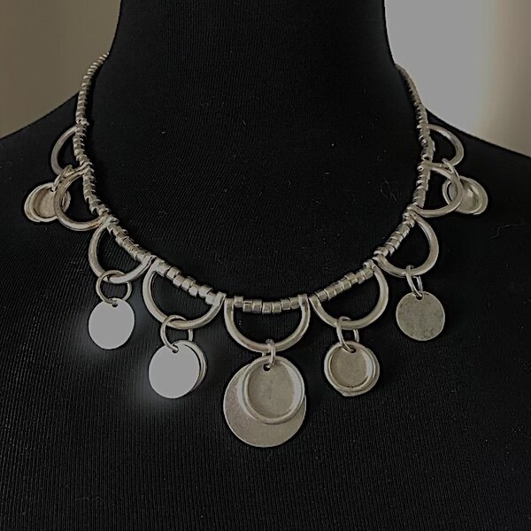 OTS-097 - Silver Plated Necklace