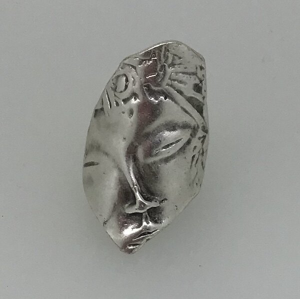OTR-40 Silver plated ring