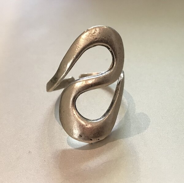OTR-44 Silver plated ring