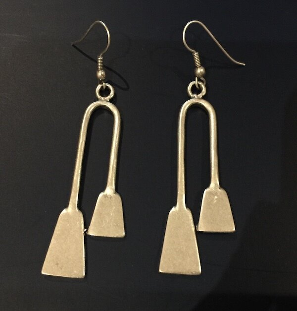 OTE-47 Silver plated earrings