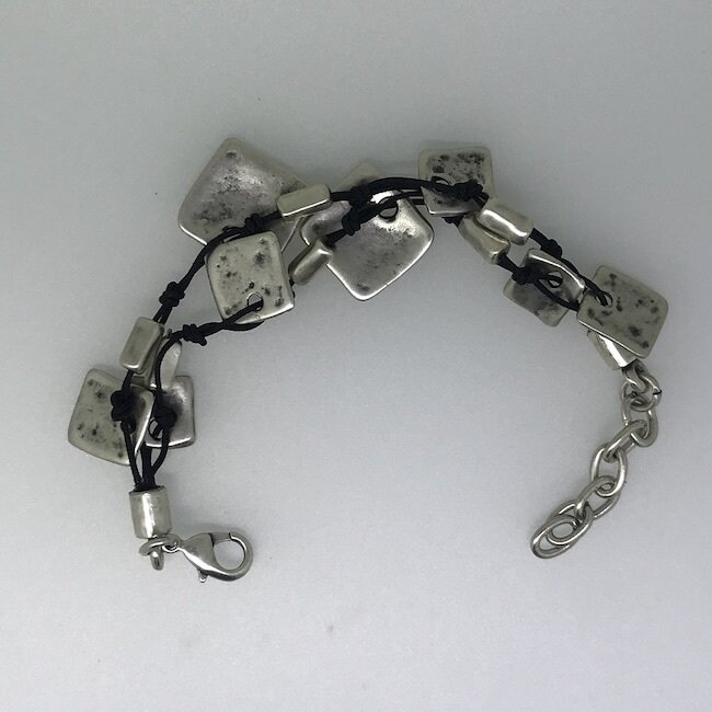 LHB-11 Silver plated bracelet