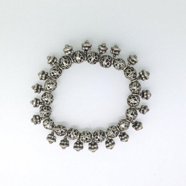 OTB-39 Silver plated bracelet