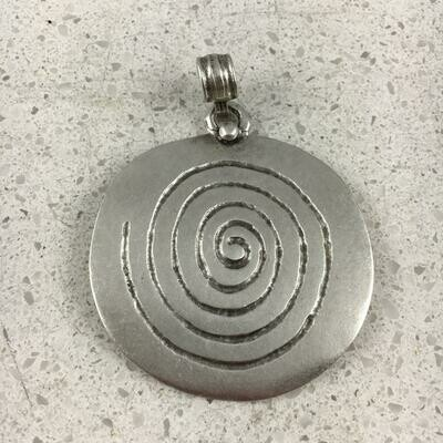 2019 - Silver Plated Pendant