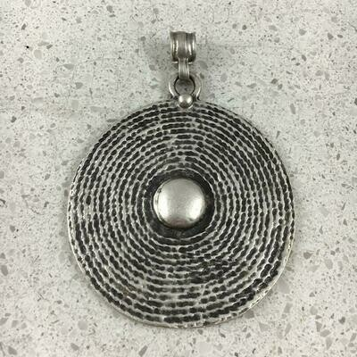 2010 - Silver Plated Pendant