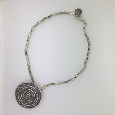 OTP-26 Silver plated necklace