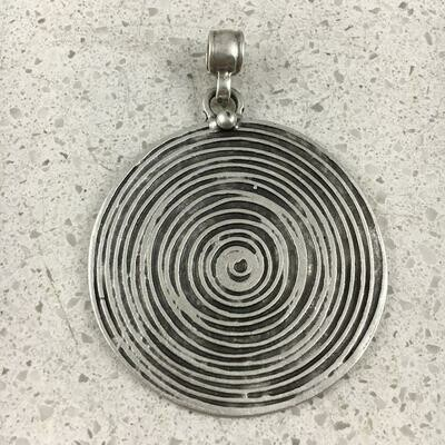 OTP-2020 - Silver Plated Pendant
