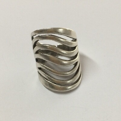 OTR-289 - Silver plated ring