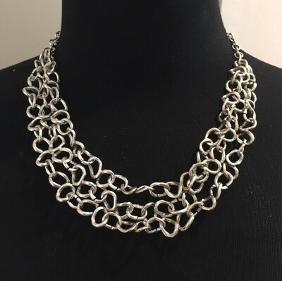 OTN-48 Silver plated necklace