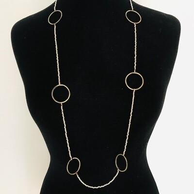 OTBNZ-3 Silver plated Bronze necklace