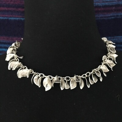 OTN-21 Silver plated necklace