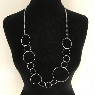 OTN-50 Silver plated necklace