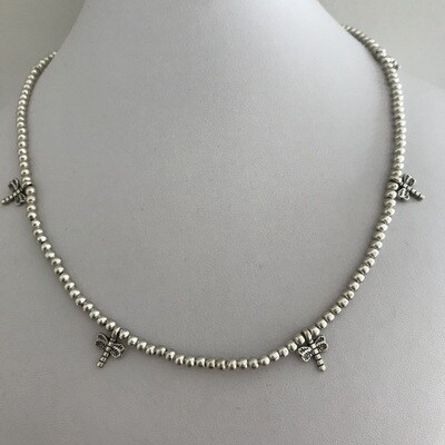 OTN-43 Silver plated necklace