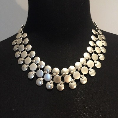 OTN-1757 Silver plated necklace