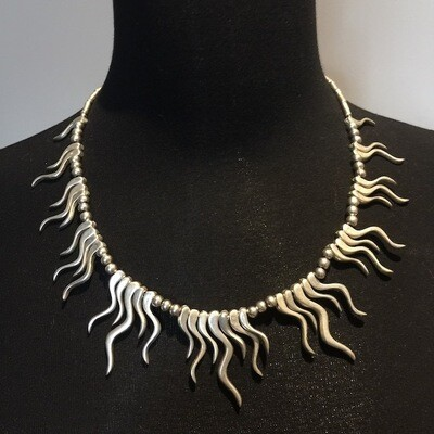 OTN-57 Silver plated necklace