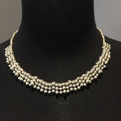 OTN-58 Silver plated necklace
