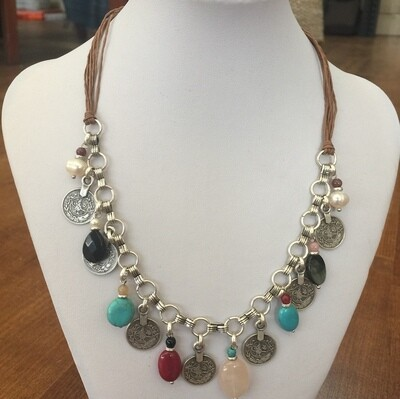 BN-4 - Silver Plated Necklace