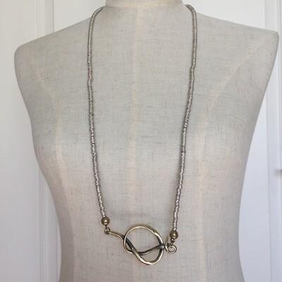 OTNB-1051 bronze necklace