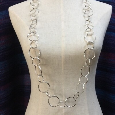 OTN-1622 - Silver Plated Necklace