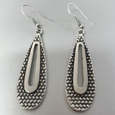 OTE-13 Silver plated earrings