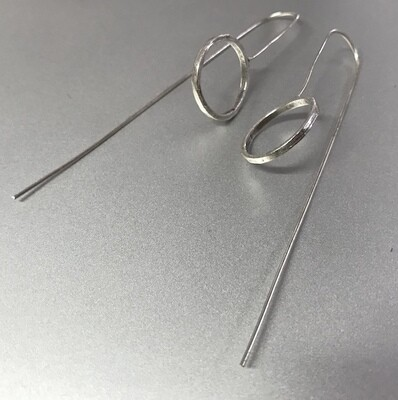 OTE-18 Silver plated earring