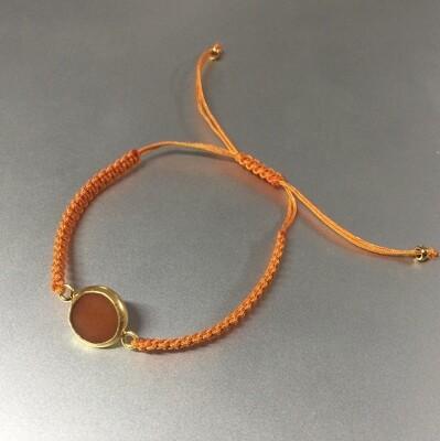 BB-810 Bracelet Stone Cotton