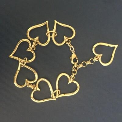 BB-802 Silver plated bracelet