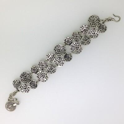 3104 - Silver plated bracelet