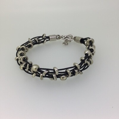 3207 Silver plated bracelet