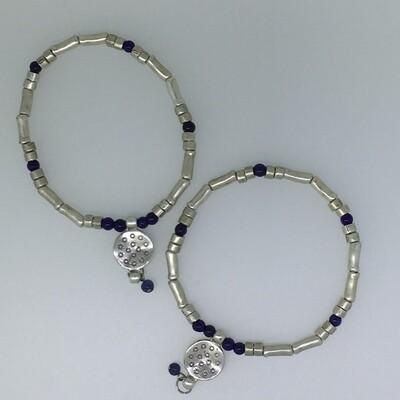 LHB-5 Silver plated bracelets