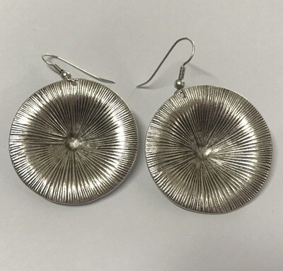 OTE-4523 Silver plated earrings