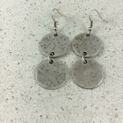 OTE-5040 - Silver Plated Earring