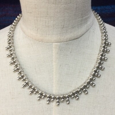 OTN-1297 Silver plated necklace