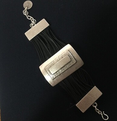 OTB-2353 Silver plated bracelet