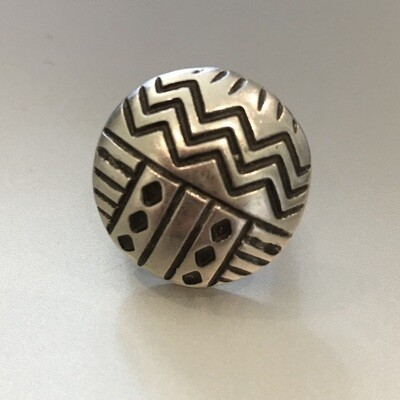 OTR-31 Silver plated ring