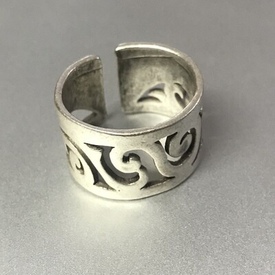 OTR-3 Silver plated ring