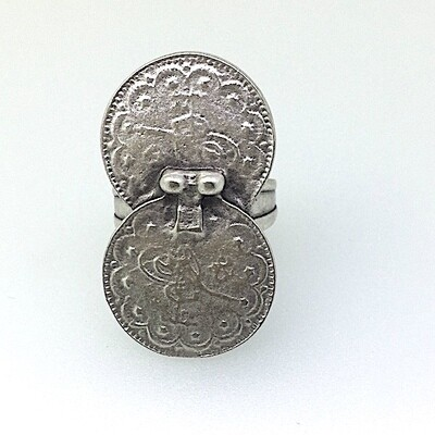 OTR-28 Silver plated ring