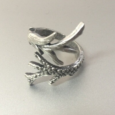 OTR-20 Silver plated ring