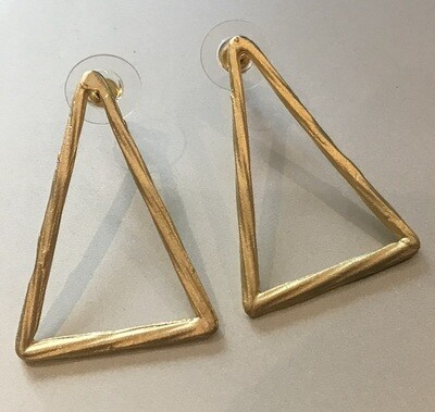 BE-1923 Gold plated earrings
