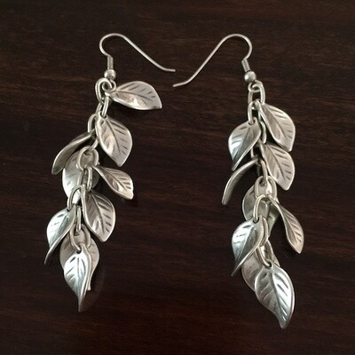 OTE-22 Silver plated earrings